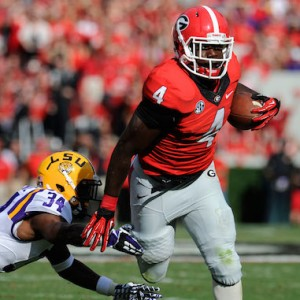 NCAA Football: Louisiana State at Georgia